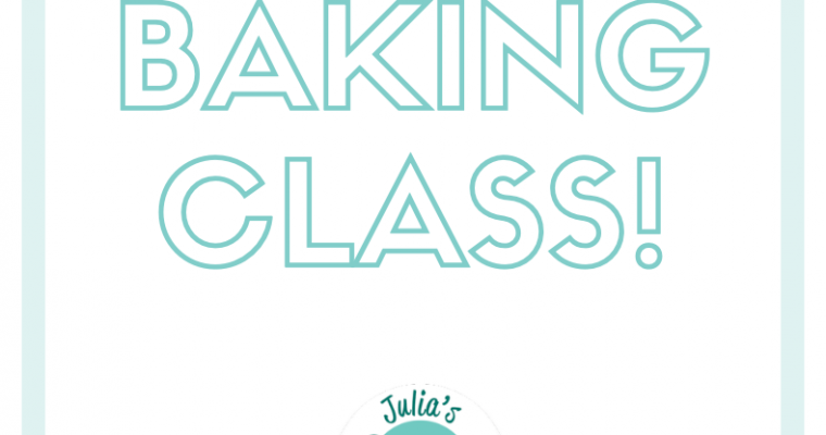 NEW Joyful Baking Classes!
